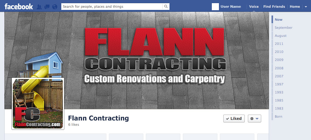 FlannContracting-FB-Timeline