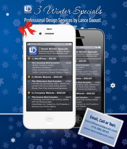Winter Specials for 2011/2012