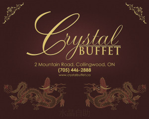 Crystal Buffet Dining and the Arts ad