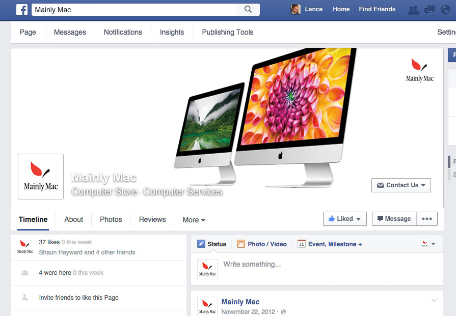 Mainly Mac Facebook Page