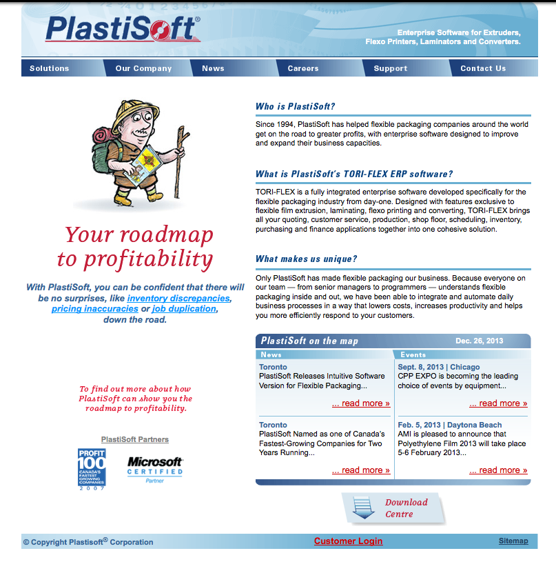 Old PlastiSoft Site
